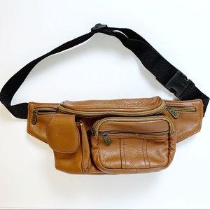 APC Vintage Leather Fanny Pack